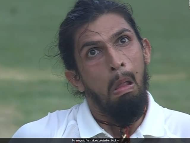 Now IShant Sharma reveals the reason of his strange expression he gave against Steven Smith