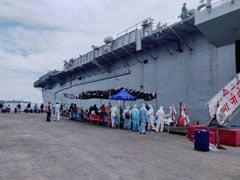 मालदीव में फंसे 698 भारतीयों को लेकर नौसेना का युद्धपोत आईएनएस जलाश्व कोच्चि के लिए रवाना