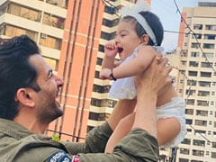 Jay Bhanushali Shares An Adorable Father-Daughter Moment With Baby Tara. See Pic