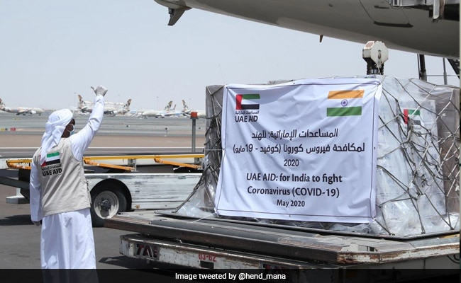 India Gets 7 Tons Of Medical Supply From UAE To Fight COVID-19