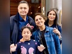 When Riddhima And Samara Visited Rishi And Neetu Kapoor In New York