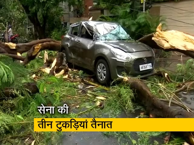 Videos : अम्फान से हुई तबाही से उबरने के लिए सेना ने बंगाल में शुरू किया राहत कार्य