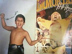 रणवीर सिंह बचपन में करते थे इस रेसलर को फॉलो, Photo शेयर कर बोले- जब WWF जिंदगी हुआ करती...