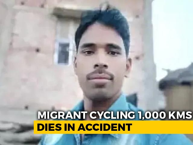 Video : Migrant Cycling 1,000 Km Home Takes Meal Break, Hit By Car In UP, Dies