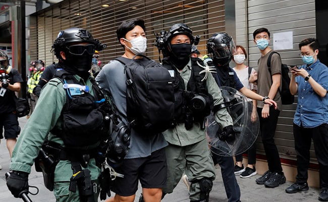 300 Arrested As Thousands Protest In Hong Kong Over China's Proposed Law