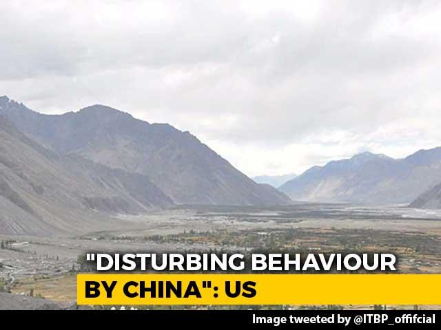 "Video : ""Disturbing Behaviour By China"": US On Chinese Activity Along Ladakh Boundary"