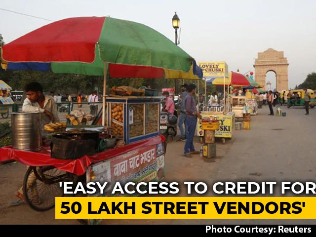 Video : Rs 5,000 Crore Credit For Street Vendors, 50 Lakh To Benefit: Government