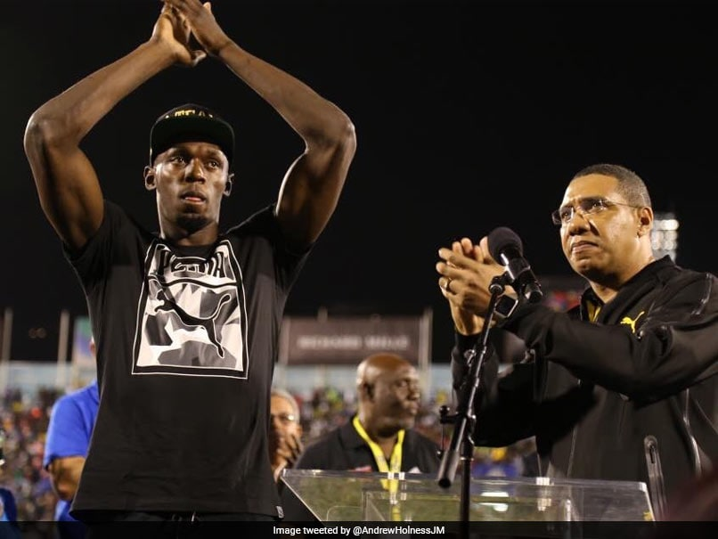 Sprint Legend Usain Bolt And Partner Kasi Bennett Welcome Baby Girl