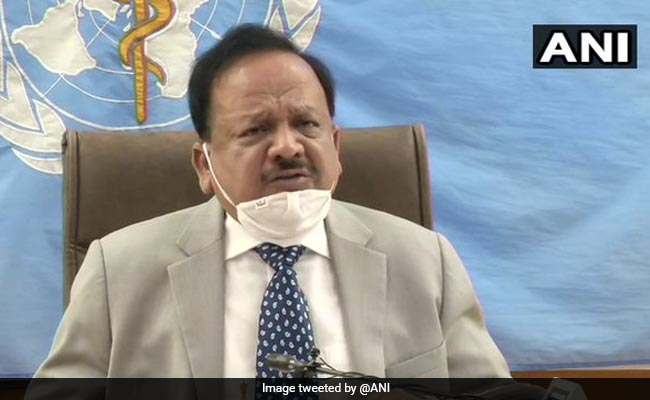 In Population Of 1.35 Billion, India Has Only 0.1 Million COVID-19 Cases: Harsh Vardhan