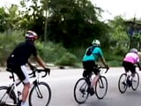 Video: Virtual Cycling During Lockdown To Stay Fit