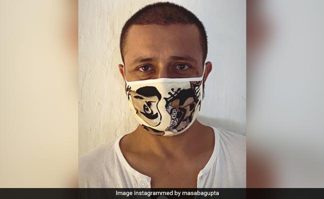 Masaba Gupta's Rumoured Boyfriend Satyadeep Misra Models Her Brand's Face Mask