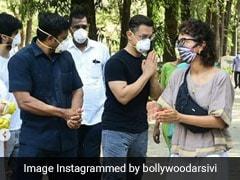 आमिर खान पत्नी संग असिस्टेंट के अंतिम संस्कार में हुए शामिल, 25 सालों से साथ में कर रहे थे काम- देखें Photo और Video
