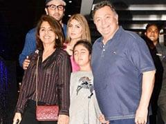 """How I Wish.."": Neetu Kapoor Shares Throwback Pic With Rishi Kapoor, Ranbir, Riddhima And Samara"
