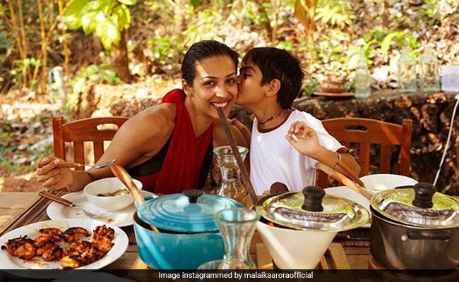 Malaika Arora's Throwback Pic With Son Arhaan Will Take Away Your Quarantine Blues