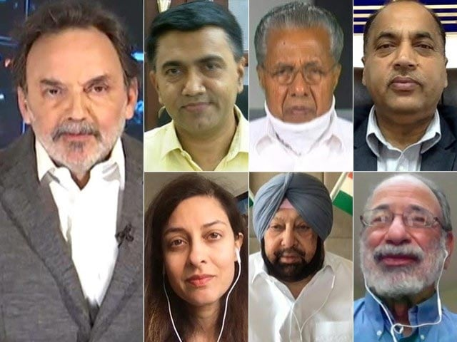 Video : Watch: Prannoy Roy's Townhall With Amarinder Singh, Pinarayi Vijayan