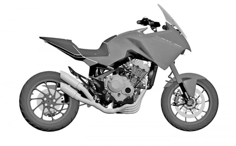 Honda CB4X Revealed In Patent Images