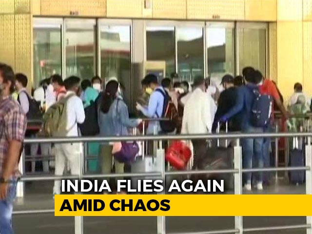 Video : India Flies Again Amid Chaos, Lack Of Coordination