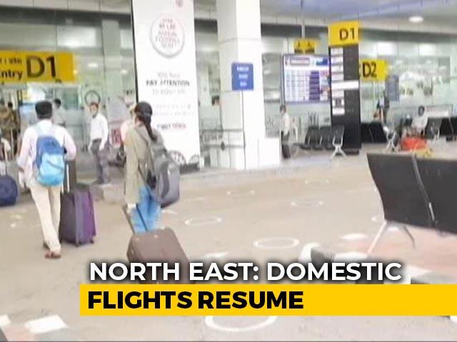 Video : Domestic Air Travel Resumes, No Flights From Kolkata