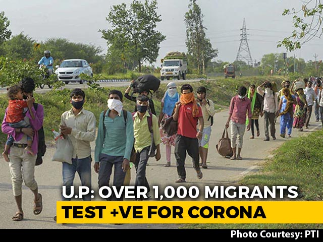 Video : 30 Km From UP Capital, Spike In Virus Cases For Migrants Who Came Home
