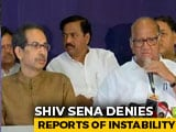 "Video : ""Government Strong,"" Says Sena MP As Uddhav Thackeray, Sharad Pawar Meet"