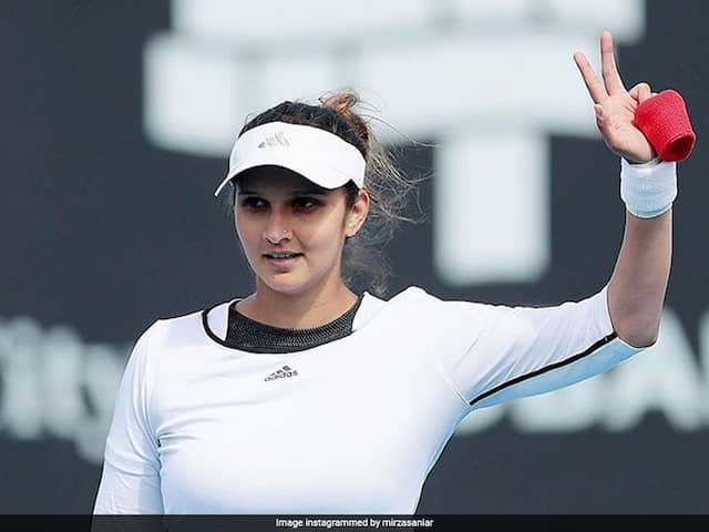Sania Mirza Wins Fed Cup Heart Award, Donates Prize Money To Telangana CM Relief Fund