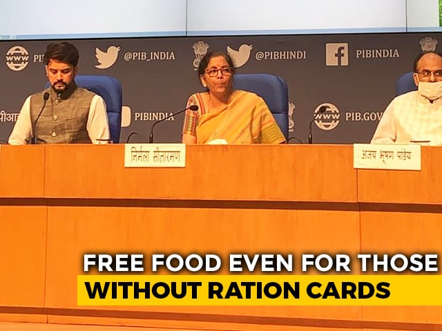 Video : Top News Of The Day: 'One Nation, One Ration Card' Announces Finance Minister