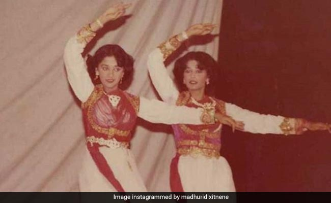 Can You Tell Madhuri Dixit And Her Sister Apart In This Insane Throwback?