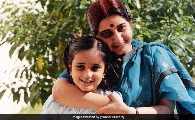 'Miss You With Every Breath': Sushma Swaraj's Daughter On Mother's Day