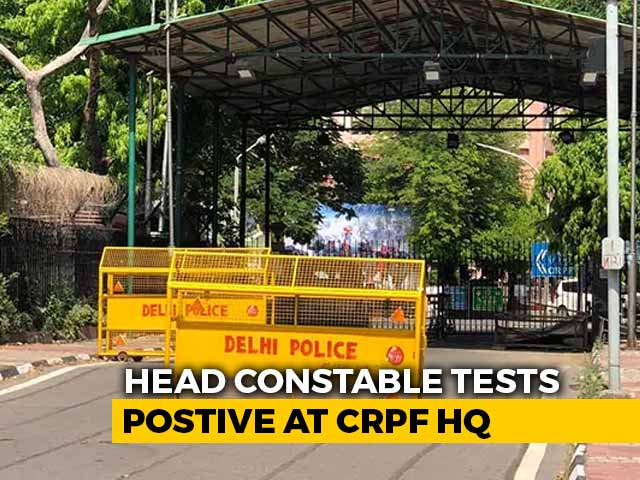 Video : Nearly 1,000 CRPF Staff On Work-From-Home After Headquarters Sealed