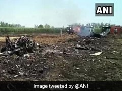 Air Force's MiG-29 Crashes In Punjab's Nawanshahr, Pilot Ejects Safely