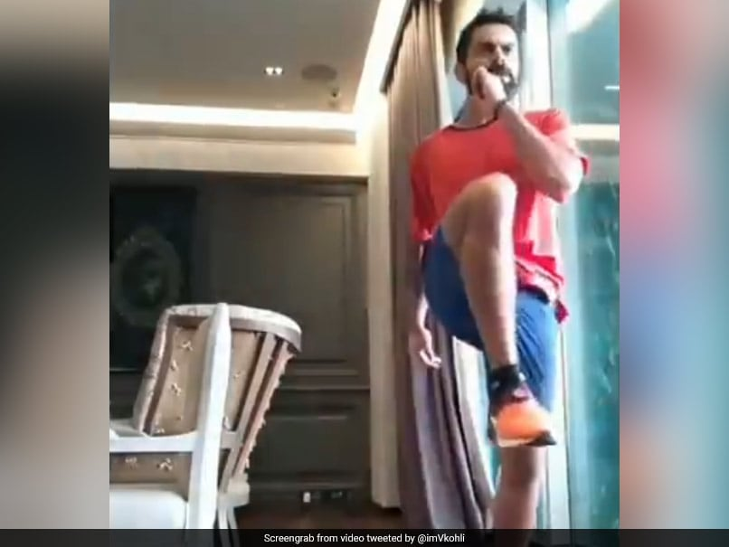 Watch: Virat Kohli Wows Fans With