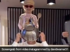 David Warner's Family Use His Head As A Drum In Latest TikTok Video. Watch