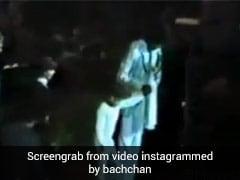 अभिषेक बच्चन ने शेयर किया 39 साल पुराना Video, अमिताभ बच्चन ने लोगों से यूं करवाया था परिचय