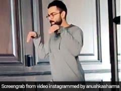 विराट कोहली ने डायनासोर बनकर मारी दहाड़, देखकर एक्टर की छूटी हंसी तो क्रिकेटर ने दिया ऐसा जवाब - देखें Video