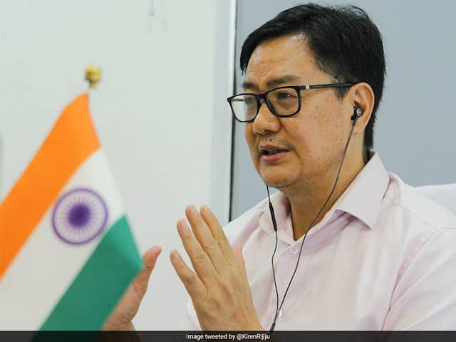 Sports Minister Kiren Rijiju Wants To Ensure Athletes, Coaches Become Stronger After Lockdown