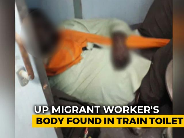 Migrant's Body Found In Train Toilet In UP, May Have Been There For Days