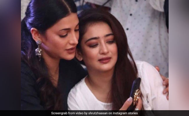 Shruti Haasan, In A Throwback State Of Mind, Shares Pic With Sister Akshara