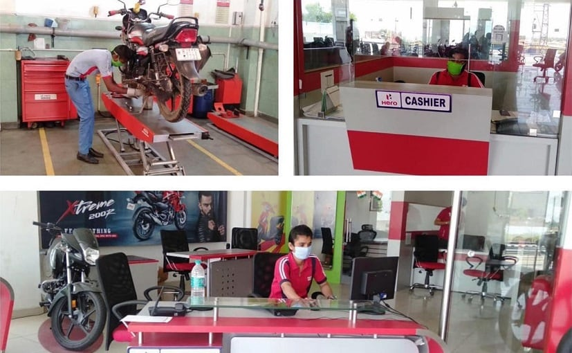 Hero MotoCorp Commences Retail Operations With Safety Guidelines & Operating Protocols