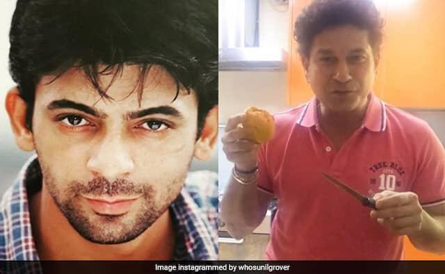 Sachin Tendulkar made surprise mango Kulfi For his Wife Anjali actor Sunil Grover react on it watch Video