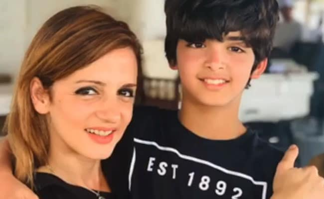 Sussanne Khan's Birthday Wish For Her 'Artist' Son Hridhaan Came Gift-Wrapped Like This