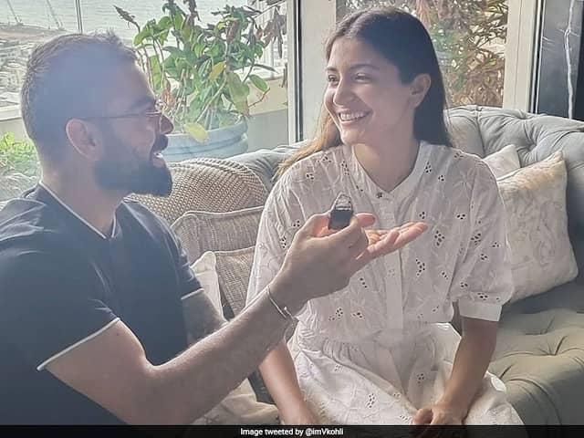 "Virat Kohlis Birthday Message For Anushka Sharma: ""You Light Up My World Everyday"""