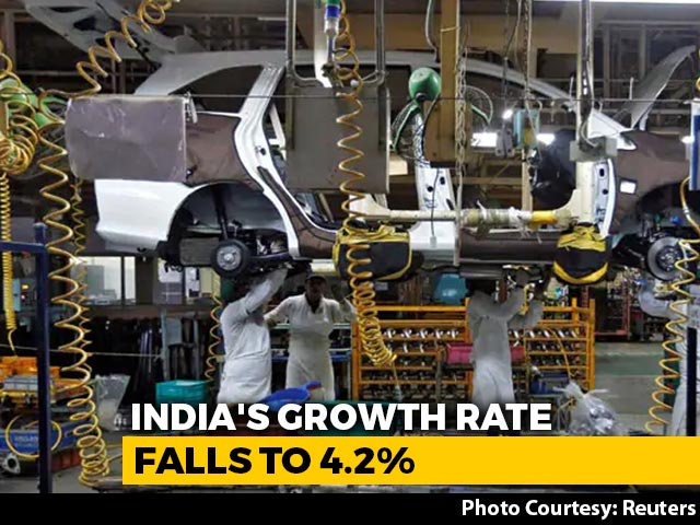 Top News Of The Day: At 4.2%, GDP Growth In 2019-20 Sinks To 11-Year Low