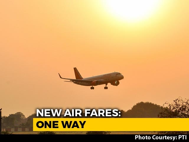 Video : 7 Fare Bands For Domestic Flights; Ticket Prices Between Rs 2,000-18,600