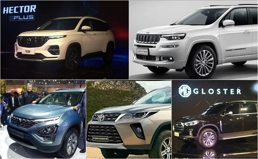 New Upcoming 7 Seater Suvs Slated To Be Launched In India In 2020
