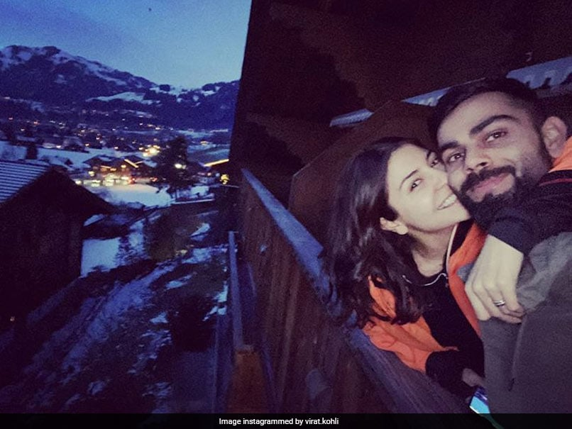 """Virat Kohli Recalls """"Soft Winds, Rustle Of Trees"""" In Throwback Picture With Anushka Sharma"""