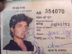 "Sonu Sood's Old Mumbai Local Pass Goes Viral; ""Full Circle,"" He Tweets"