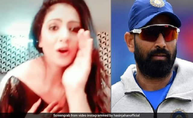Mohammed Shami wife hasin jahan dance video goes viral Fans says apologize to shami