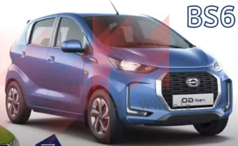 Datsun Redi-GO Facelift Photos And Variant Details Leaked