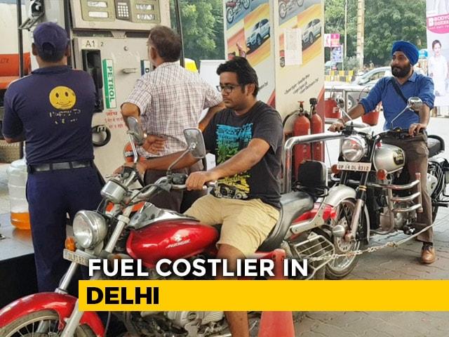 Video: Petrol, Diesel Costlier In Delhi From Today
