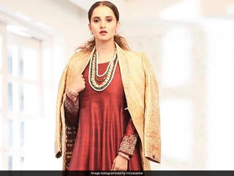 """""""Ready To Go Out To My Drawing Room"""": Sania Mirza Glams Up, Fans Show Love"""